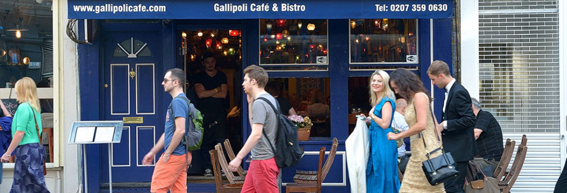 Cafe Gallipoli  Upper Street