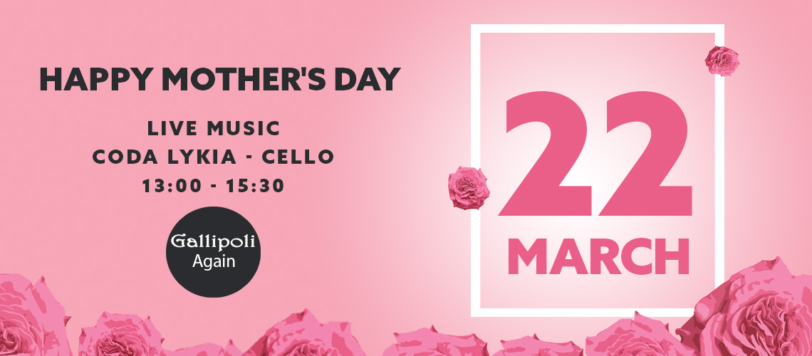 Gallipoli Restaurant Mother's Day - Turkish Mediterranean food